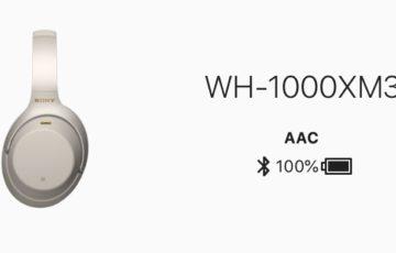 ノイズキャンセリング ヘッドホン sony WH-1000XM3レビュー