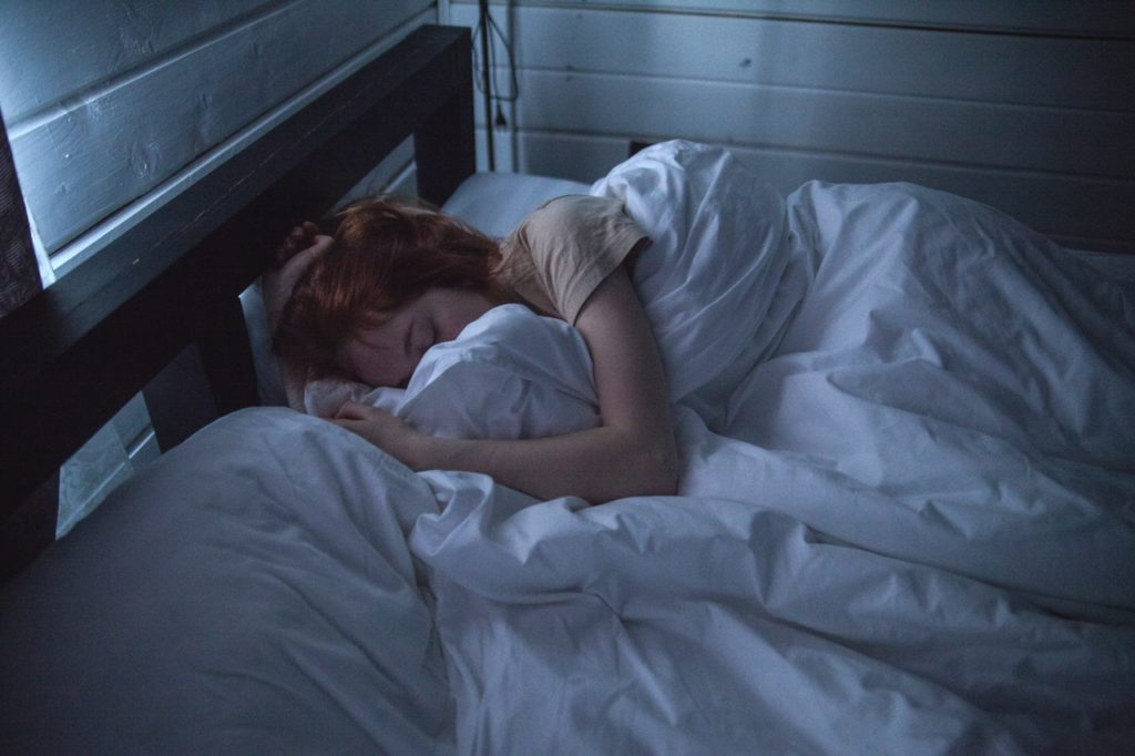 落ち込んだ時は早く寝よう